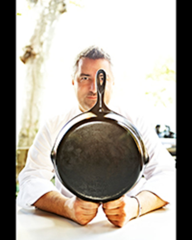 Food & Wine: Robert Newton with His Skillet