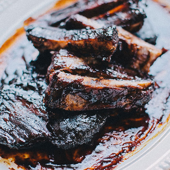 Food & Wine: Barbecue ribs