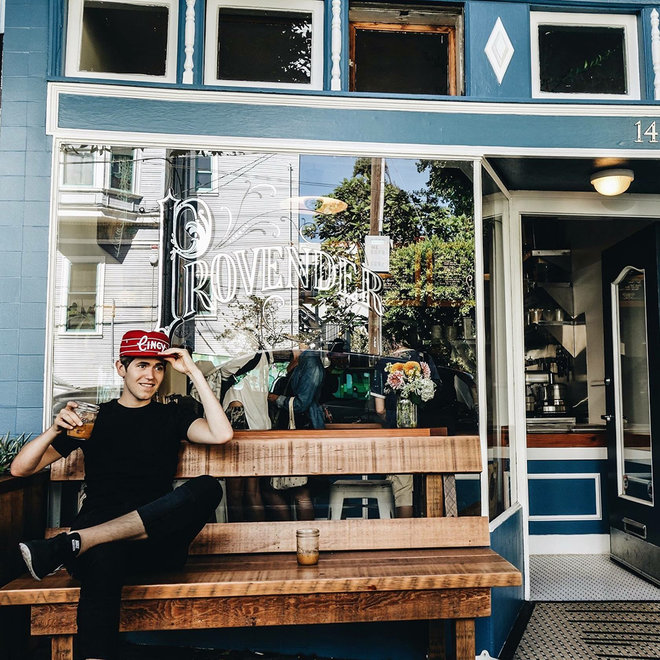 BEST COFFEE SHOPS SAN FRAN PROVENDER FWX