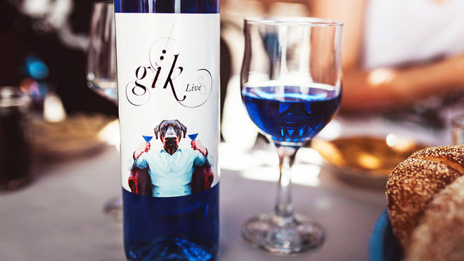 Food & Wine: gik blue wine coming to the united states