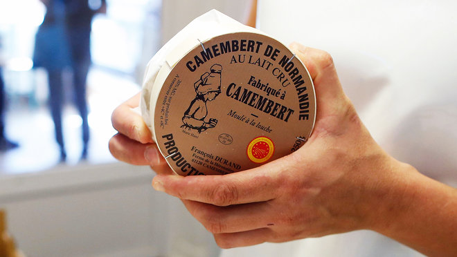camembert cheese in France