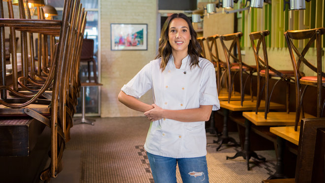 Food & Wine: Chef Leah Cohen