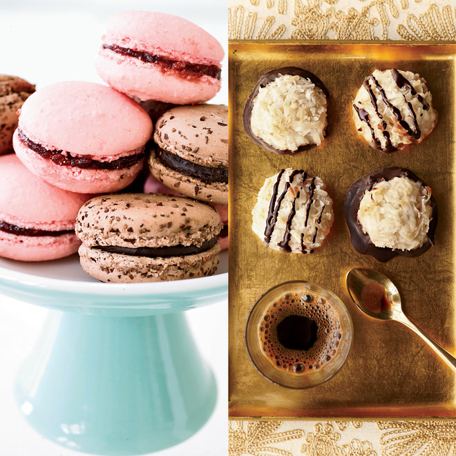 Food & Wine: Macarons and macaroons are two very different cookies.