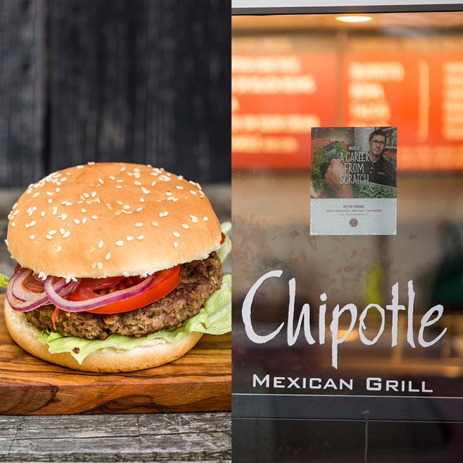 Chipotle, Burger, Restaurant