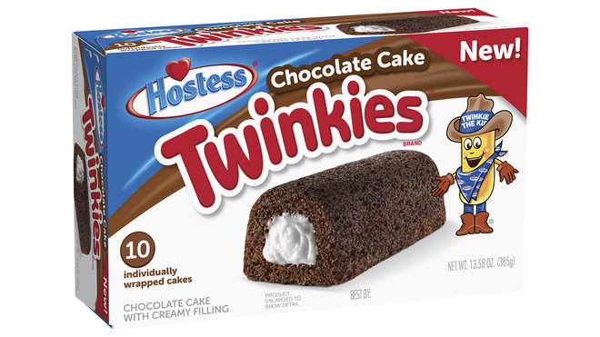Food & Wine: chocolate cake twinkies