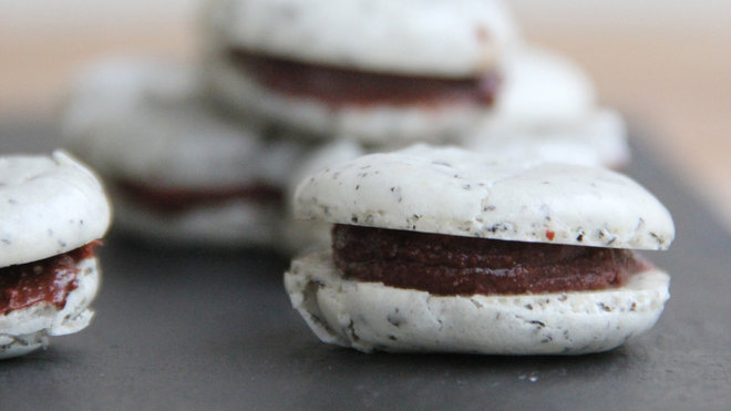 Food & Wine: Chocolate-Earl Grey Macarons