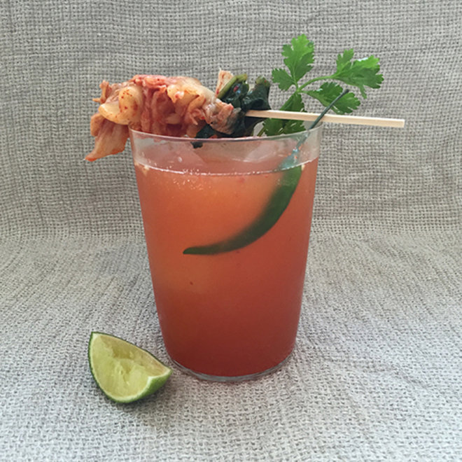 Food & Wine: Kimchee Michelada