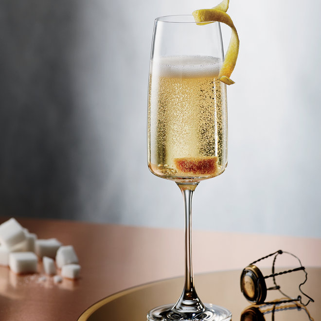 Food & Wine: What to do with that excess New Year's Champagne.