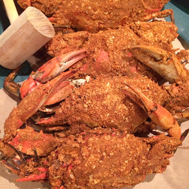Food & Wine: Batlimore-Style Crab