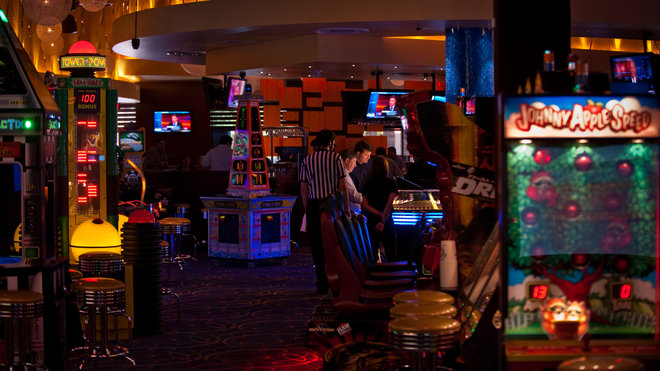 Food & Wine: Dave and Buster's