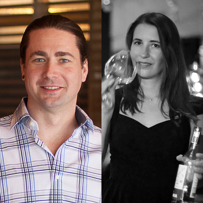 Food & Wine: Ambonnay's David Speer and Corkbuzz's Laura Maniec.