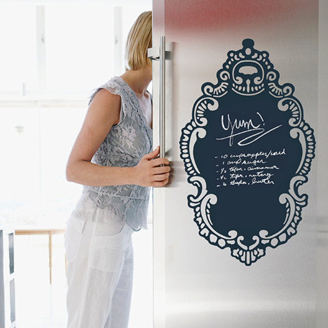 Food & Wine: Dry-erase decal
