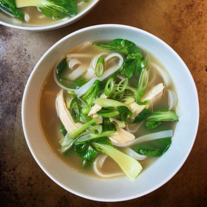 Food & Wine: Gluten-Free Ginger Chicken Noodle Soup