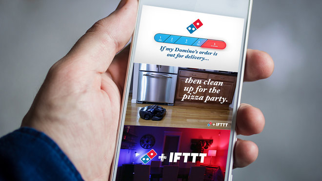 Food & Wine: dominos ifttt