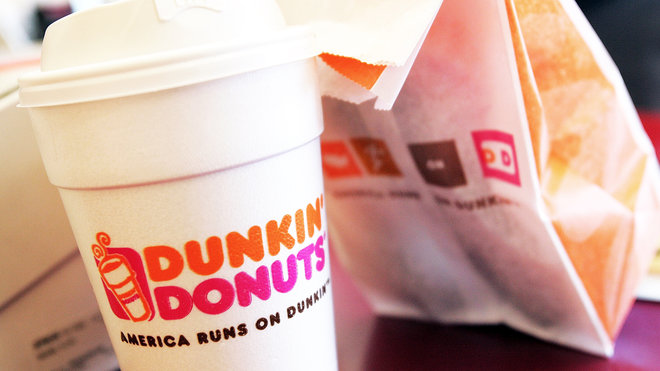 Food & Wine: dunkin donuts fake butter