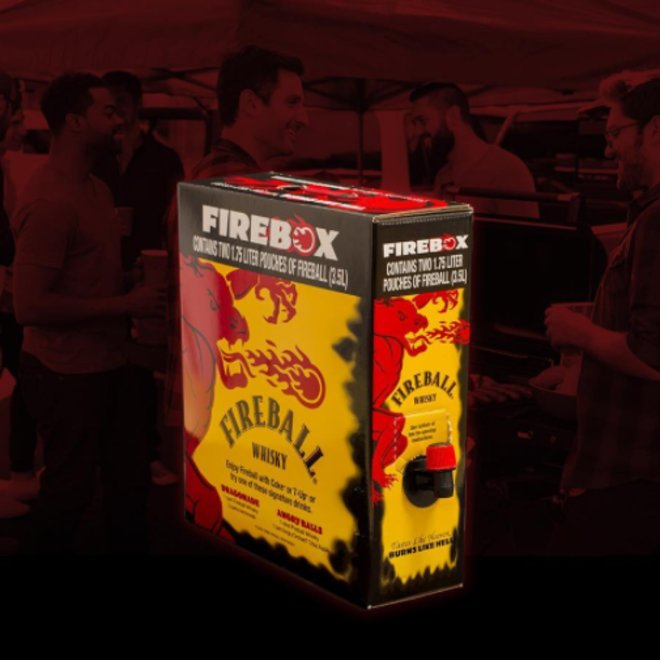 fireball firebox cinnamon whiskey