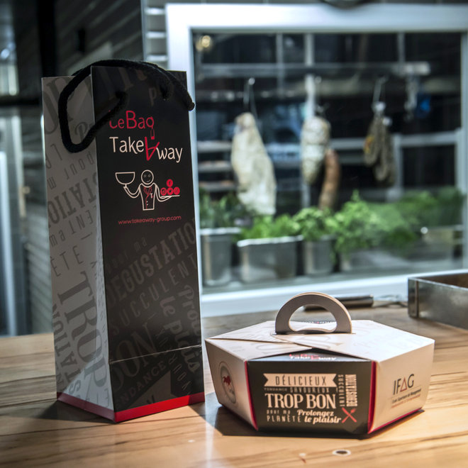 Food & Wine: France Doggy Bags