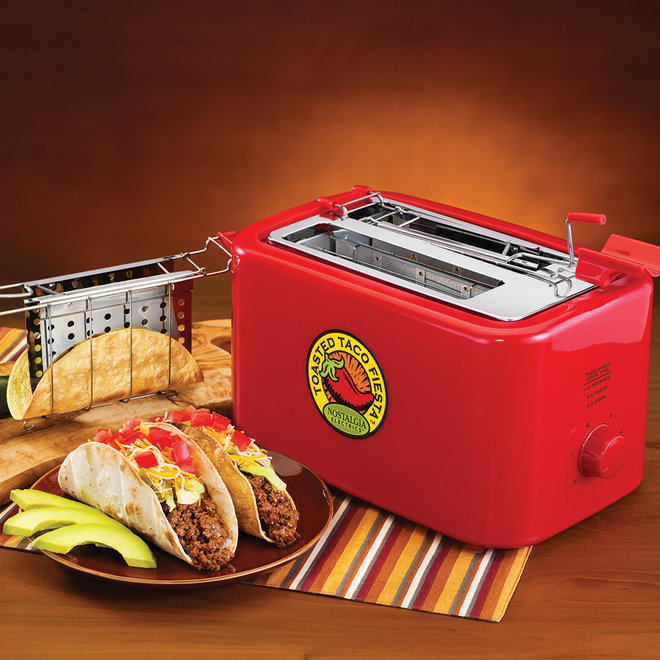 FWX FIESTA SERIES BAKED TACO SHELL TOASTER