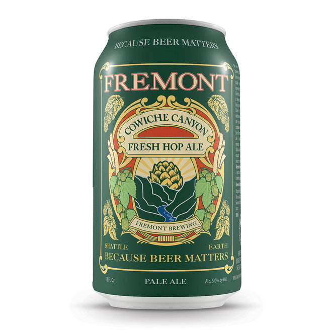 FWX FRESH HOP BEERS FOR FALL FREMONT BREWING