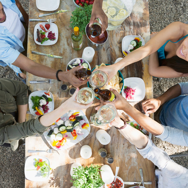 ways to keep mosquitoes away from your backyard party food wine