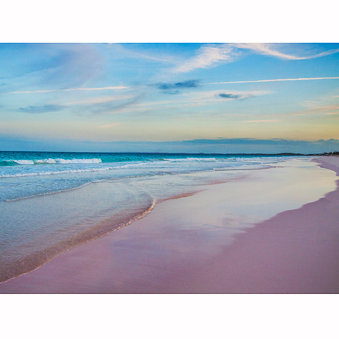 FWX PUREWOW MUST SEE BEACHES PINK SAND BEACH BAHAMAS