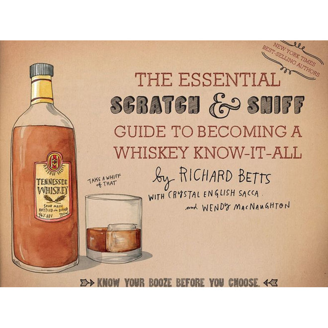 FWX SCRATCH AND SNIFF GUIDE TO BECOMING A WHISKEY KNOW IT ALL