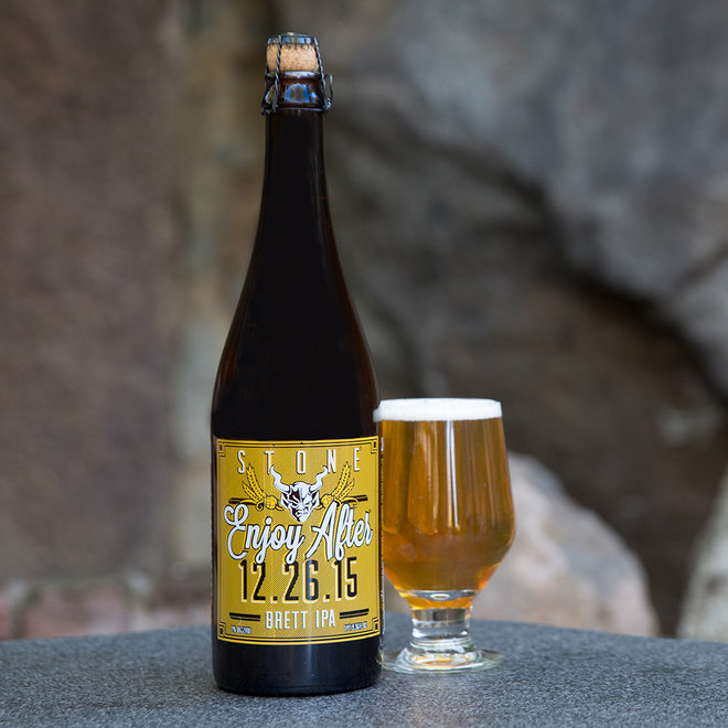 FWX STONE BREWING ENJOY AFTER CHRISTMAS BEER