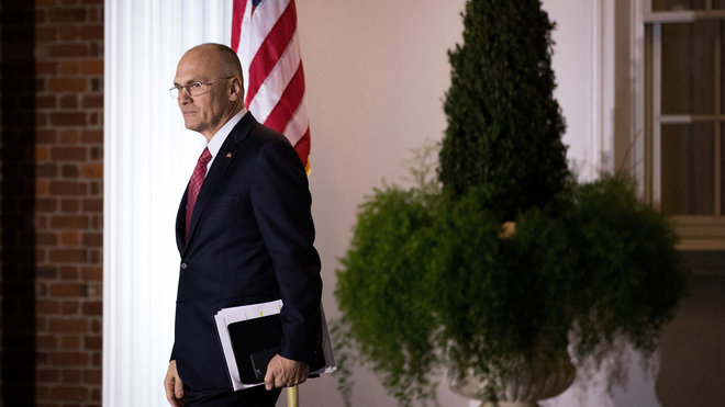 Food & Wine: Former Labor Secretary Pick Andy Puzder Is Gone as Carl's Jr, Hardee's CEO