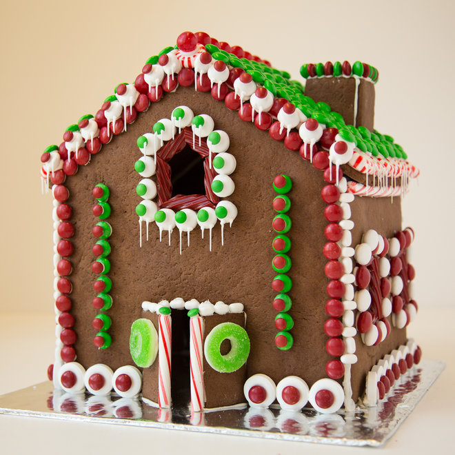 Food & Wine: A gingerbread house from NYC's Rose Bakery.
