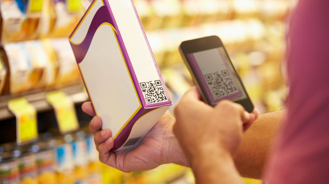 Food & Wine: Food GMO QR Codes
