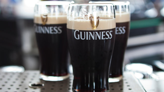 Food & Wine: Pints of Guinness