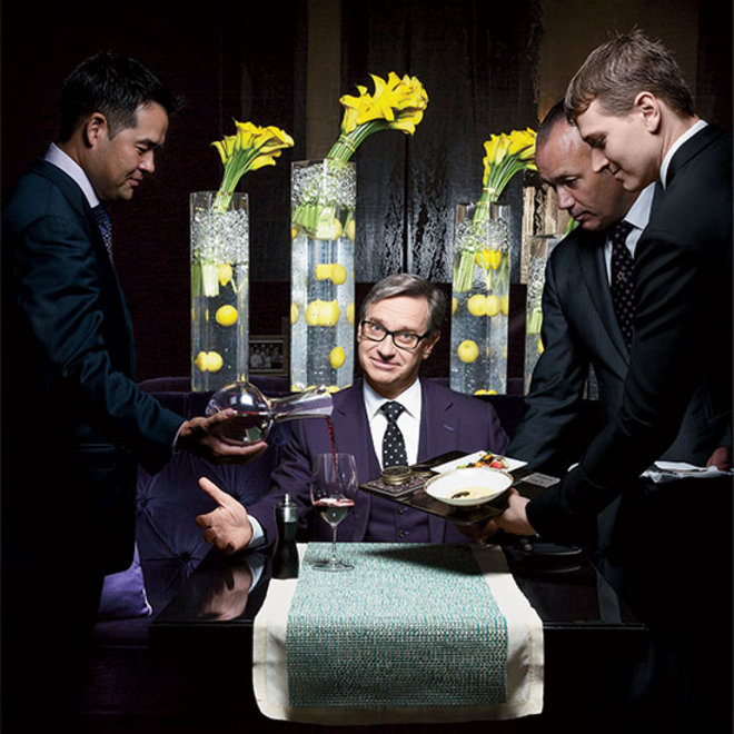 Food & Wine: For Fine Dining Fanatic Paul Feig, Downton Abbey is Like Porn