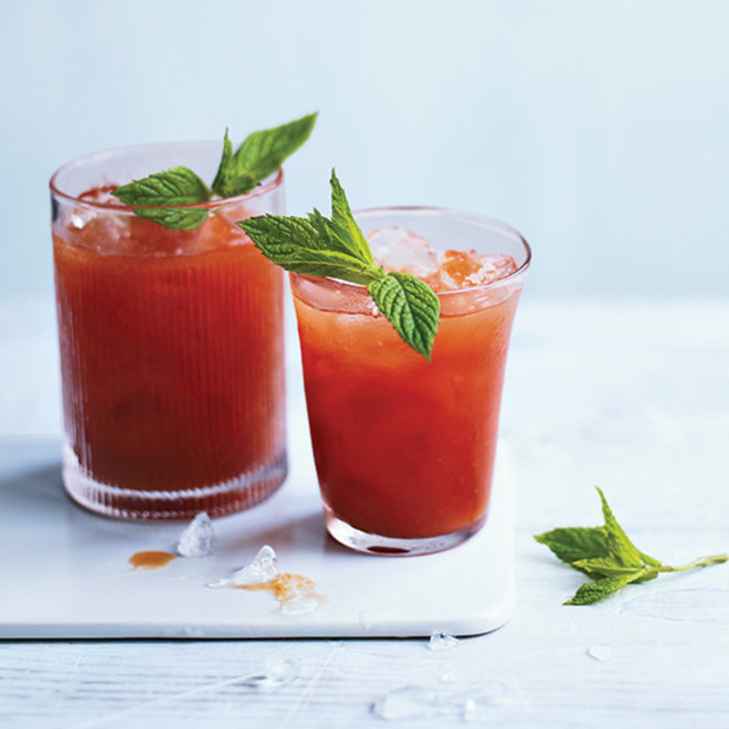 Food & Wine: Tomato Water Bloody Mary