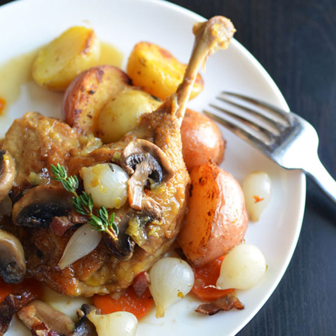 Food & Wine: Apple Cider–Braised Duck Legs