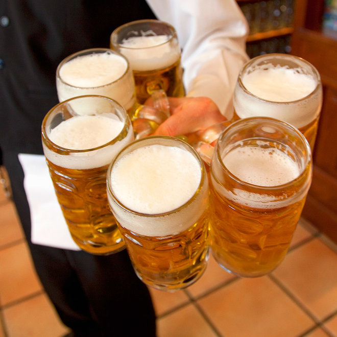 FWX BEER CARRYING RECORD SMASHED