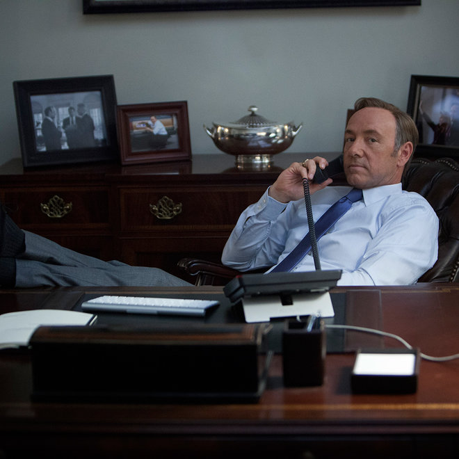 HOUSE OF CARDS FRANK UNDERWOOD