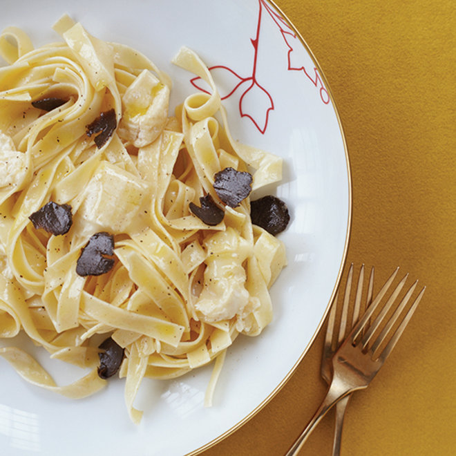 Food & Wine: Pasta with Robiola and Truffles