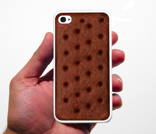 Food & Wine: Ice Cream Sandwich iPhone Case.