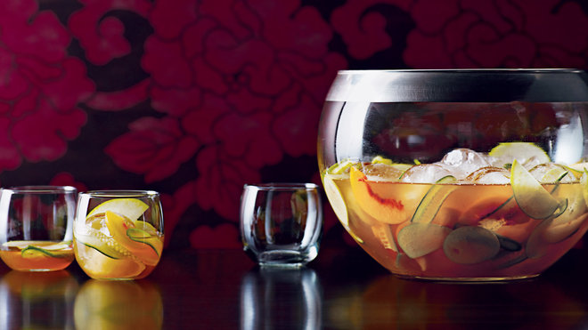 Food & Wine: A bowl of sparkling punch