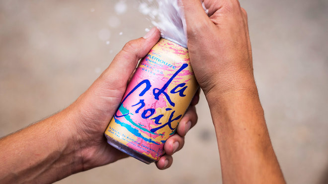 Food & Wine: lacroix sparkling water