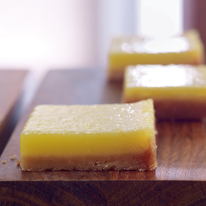 Alice Medrich's Lemon Bars