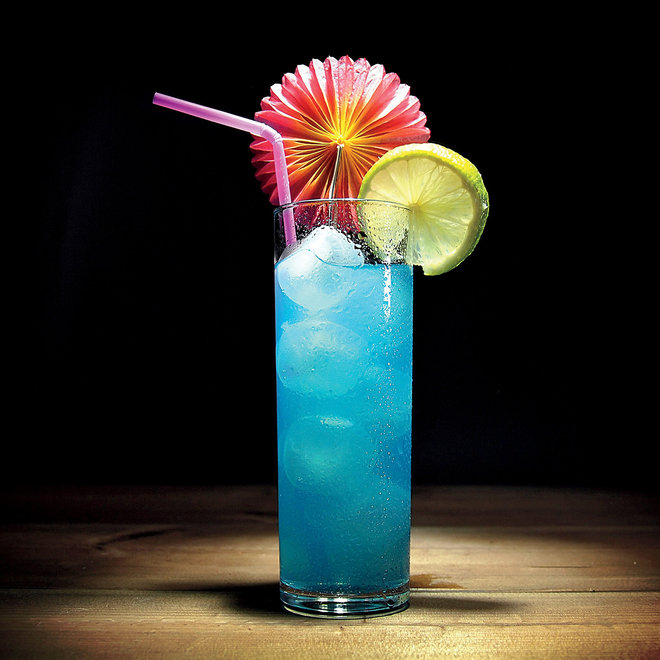 Food & Wine: Neon blue cocktail