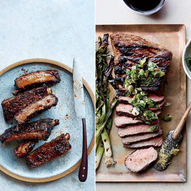 Food & Wine: Tri-Tip Steak and Glazed Agrodolce Ribs