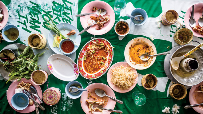Food & Wine: James Syhabout Laotian Table