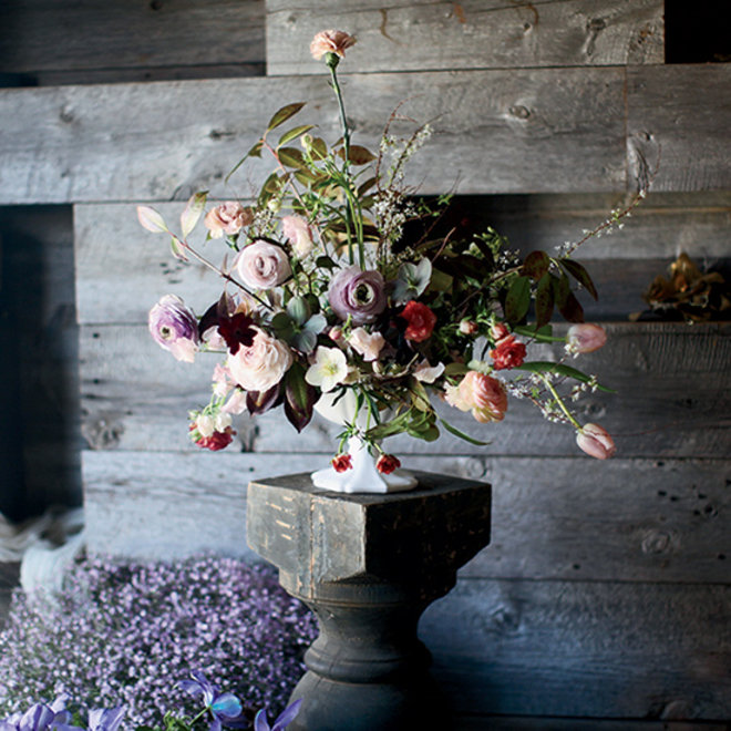 Food & Wine: Floral Arrangement from Saipua