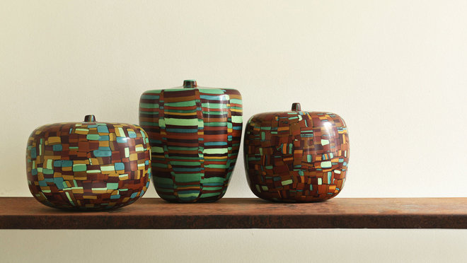 Food & Wine: Massimo Micheluzzi's glass vessels at Willer