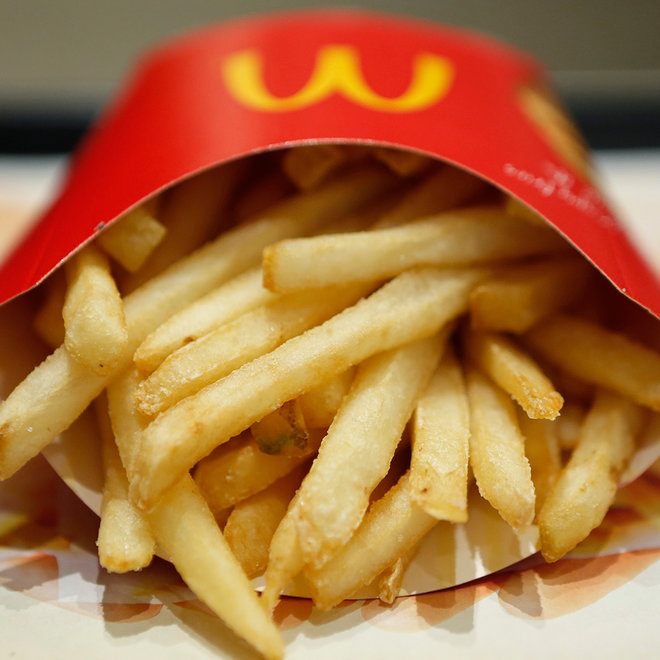 McDonald's, Fries