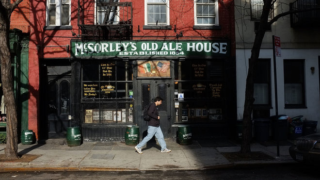 Food & Wine: McSorley's Ale House Closed by Health Department