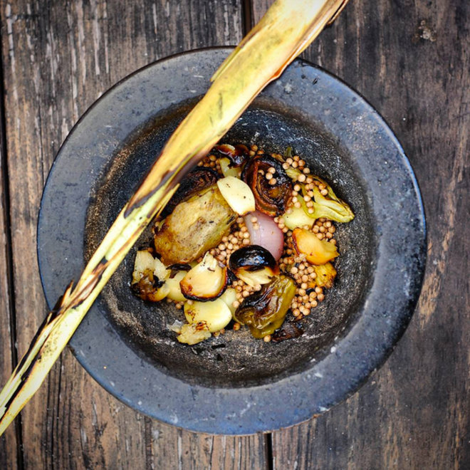 Food & Wine: Mortar and Pestle Curry