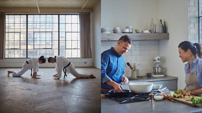 Food & Wine: Two Black Belts in the Kitchen